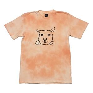 犬Tシャツ XL タイダイ染め メンズ