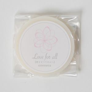 love for all 顔を洗う石鹸(サンプルサイズ)
