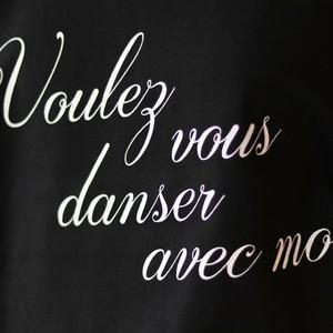 バレエトップス Voulez vous danser avec moi