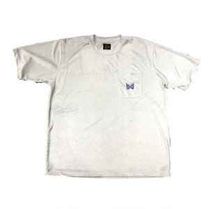 NEEDLES Short Sleeve Tee Off White