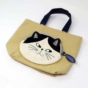 猫トートバッグ(モージー)マスタード