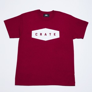 Crate Basic T-Shirt - Wine