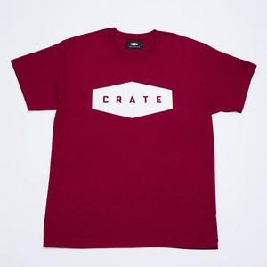 Crate Basic T-Shirt - Wine