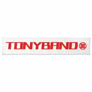 TONYBAND マフラータオル 家紋入り(白)