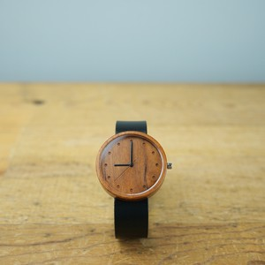 Cherry wood - Japanese leather - L