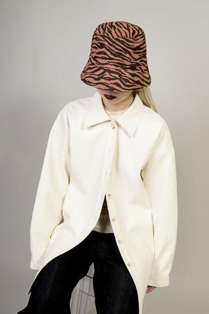 ZEBRA BUCKET HAT (BROWN) 2009-9-157