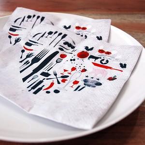 紙ナプキン ハート #243