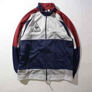 【LLサイズ】le coq ルコック sportif COLORBLOCK TRACK JACKET トラックジャケット 243310191102