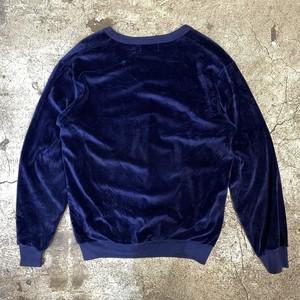 90's JC Penney Fox logo velor v-neck tops