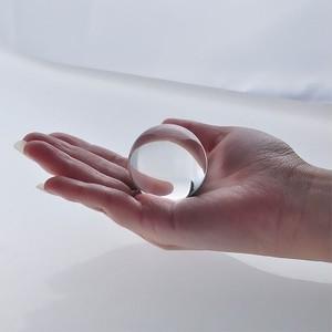 パワーストーン インスタ 映え 40 mm クラス B 高精度品 人造 水晶 クリスタル