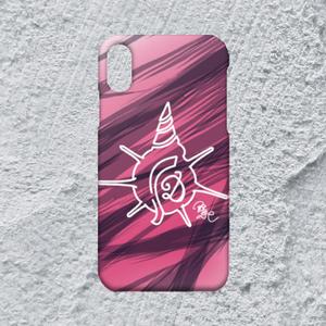 【iPhoneXR対応】D-Logoホワイトハードケース