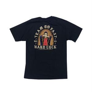 HARD LUCK - LADY GO FAST TEE (Black)