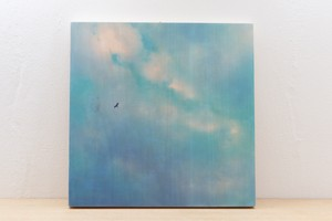 Wood Panel Magical Ocean Color #3 _ Square