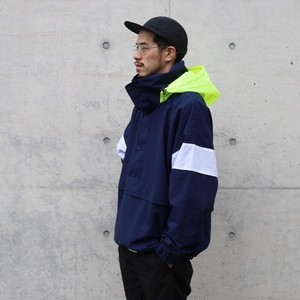 is-ness × le coq sportif / NYLON PULLOVER JACKET