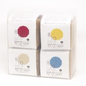 【令和元年産新米】魚沼産コシヒカリ 山清水米 玄米2合 4個セット(ケース入) ※お好きな4色をお選びください。