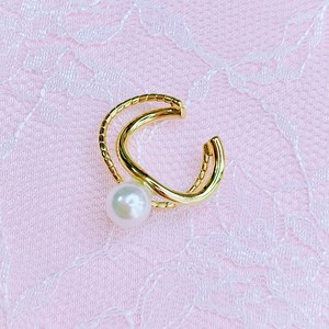 wave ear cuff【simple collection】