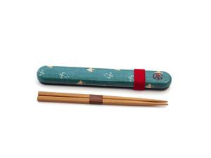 和布(わふ)箸箱セット 千鳥(33259)
