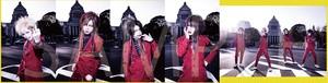 RAKUGAKI officialアーティスト写真セット