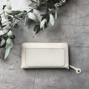 Balarm -Leather Long Wallet / panna