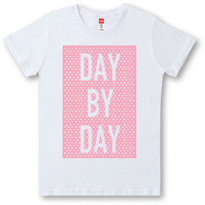 #395 Tシャツ DAY BY DAY