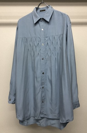 1980s Y's for men YOHJI YAMAMOTO STITCHED SHIRT