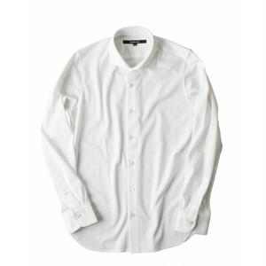 DJS-002 decollouomo メンズドレスシャツ 長袖 PUREWHITE - ピュアホワイト