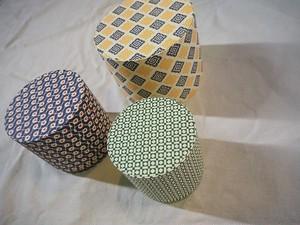 【Cartavarese】Circle box set(giometric)
