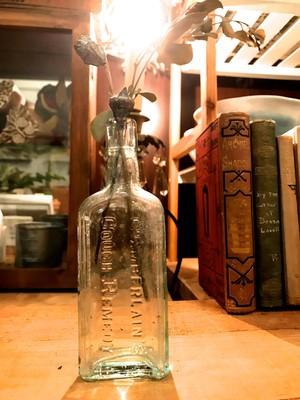 antique bottle/HAZELTINE アンティークボトル