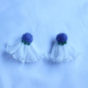 """earring""""pleats sisters""""「omasena sister」"""