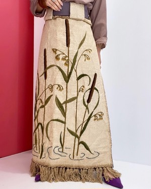 BY  CORPOCIRCUS hand embroidery apron