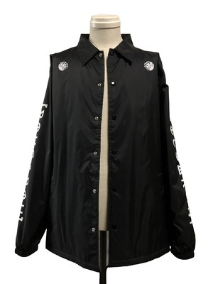 ROUGAROU  ×[ 文身師 ]芳柳  COLLABORATION COACH JACKET - BLACK -