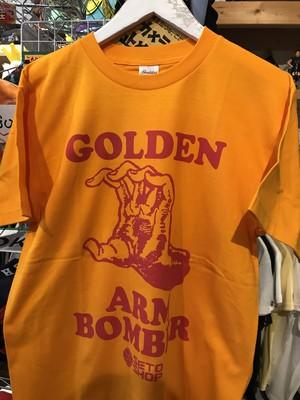 GOLDEN ARM BOMBER赤プリント版