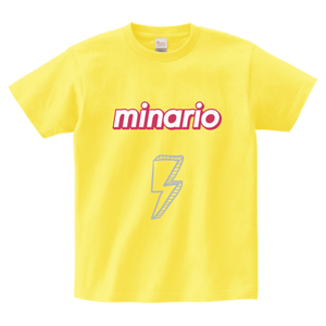 minario / SUMMER SEASON LOGO T-SHIRT YELLOW