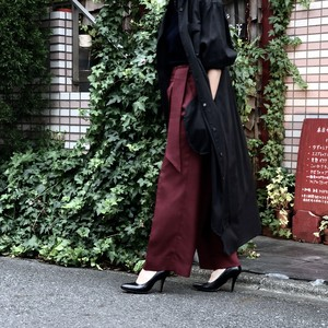 EASY PANTS/BORDEUX