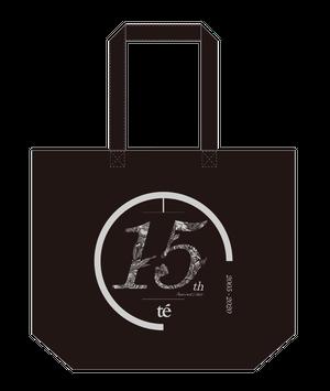 【te'】15周年グッズ – トートバッグ