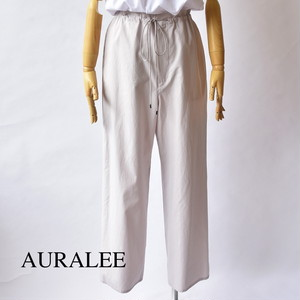 AURALEE/オーラリー ・Washed Finx Twill Easy Wide Pants