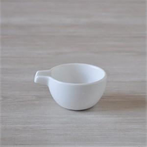 白マット片口珍味 [ 7 x 5.6 x 高さ3.2cm ] 【燈(あかり)〜バーニャカウダで野菜たっぷりヘルシー〜】