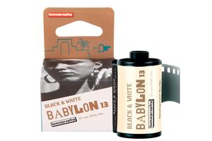 【 35mm モノクロネガ 】Lomography( ロモグラフィー )Babylon Kino B&W 35 mm ISO 13 36枚撮り