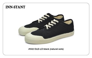 #502 OLD-LO black (natural sole) INN-STANT インスタント