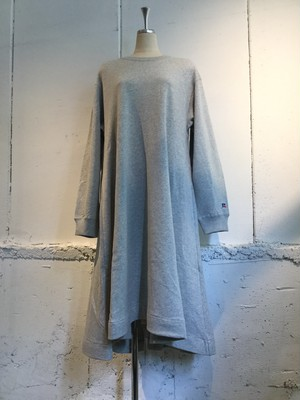 k3&co. RUSSELL×k3&co. SWEAT DRESS (GREY)