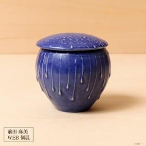 97[前田 麻美 個展]青釉 蓋物