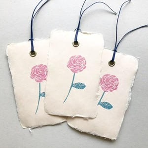 message tag / bookmark (rose)