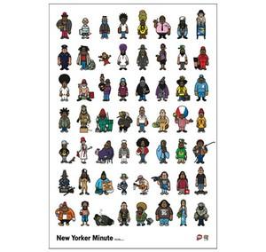 《山本 周司ポスター》PY-1/ New Yorker Minute
