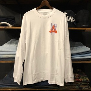 【palace skateboards】-パレススケートボード-PAIR OF HIPPYS LONG SLEEVE WHITE