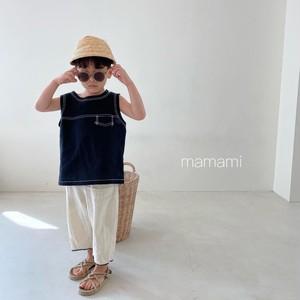 mamami / マークリネンノースリーブ