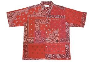 RED-2- BANDANA shortsleeve shirt