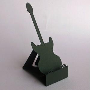 スマートフォン・スタンド_guitar_ブラックムーア