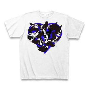 フレンチブルドッグ BUHI FULL HEART ブルーハート