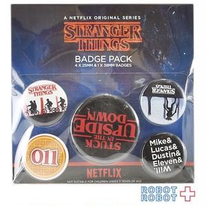 ストレンジャー・シングス 缶バッジ セット