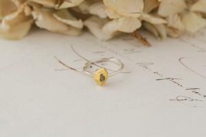 鉱石と小枝のリング B